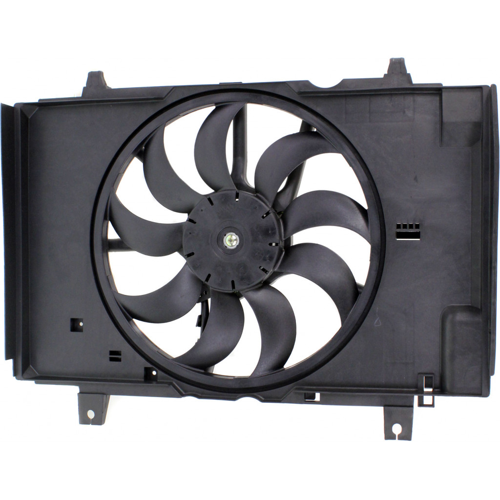 Partslink Number NI3115141 OE Replacement Radiator Fan Assembly