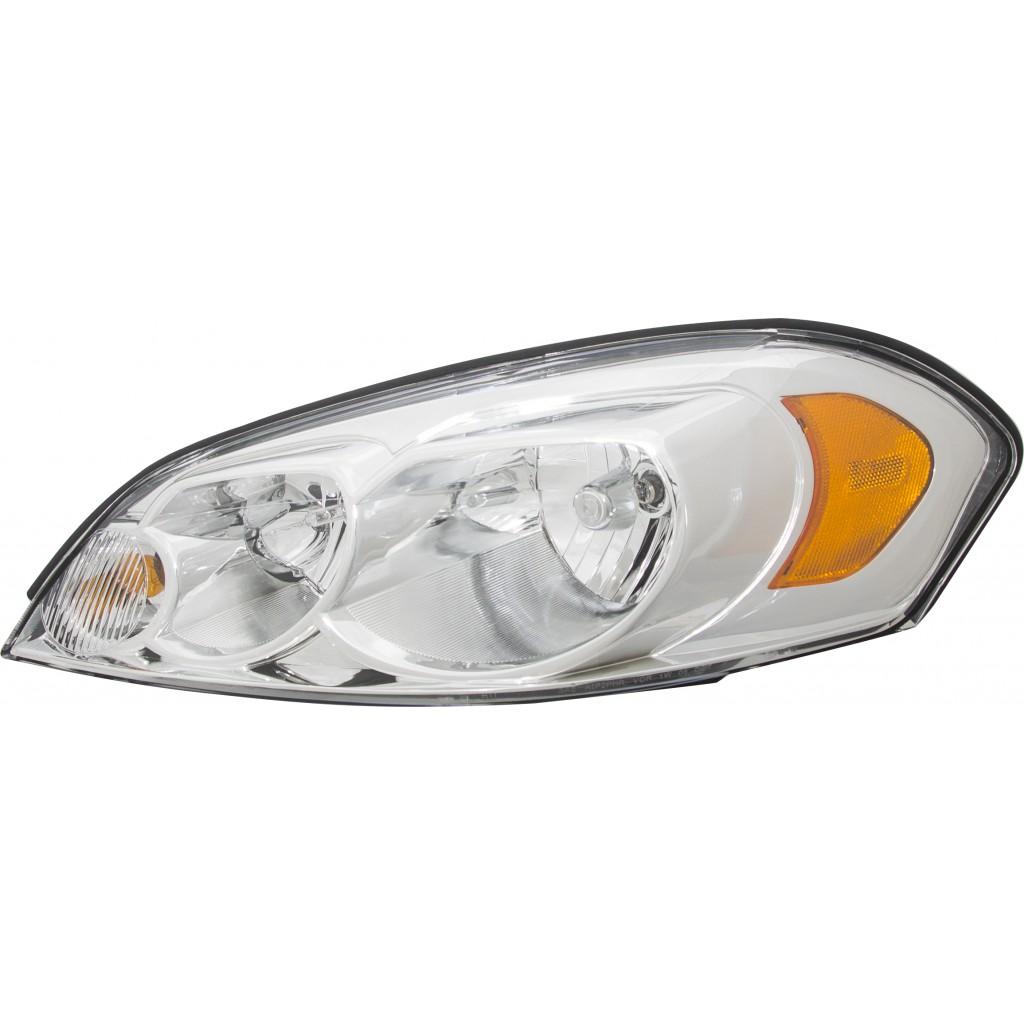 New Halogen Headlamp Assembly Right for Chevrolet Impala 2006-2011 GM2503261