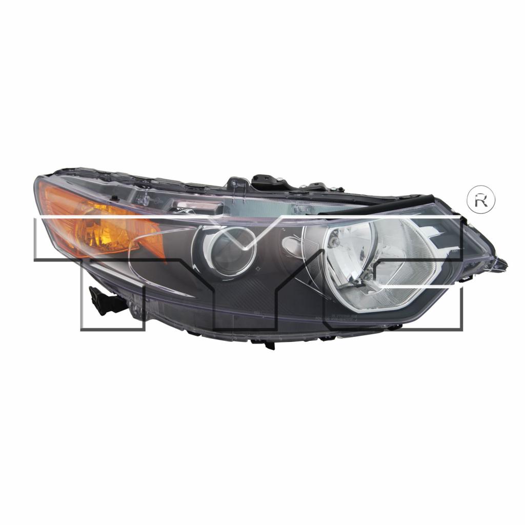 For Acura TSX Sedan Headlight 2009-2014 Passenger Side HID