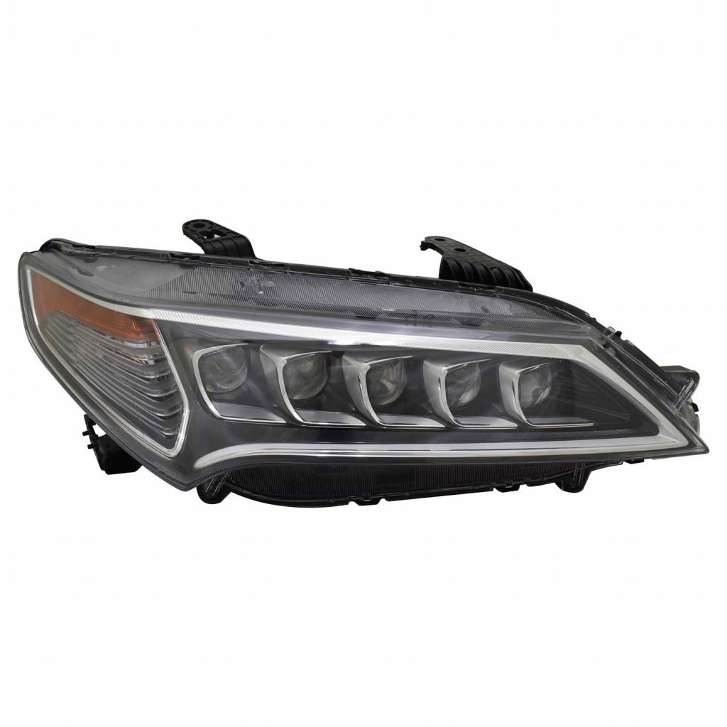 For Acura TLX Headlight2015 16 2017 Passenger Side LED
