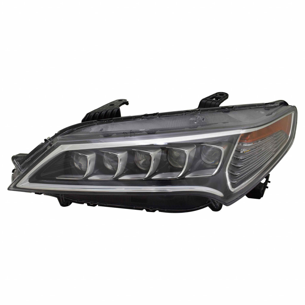 For Acura TLX Headlight 2015-2017 Driver Side LED CAPA