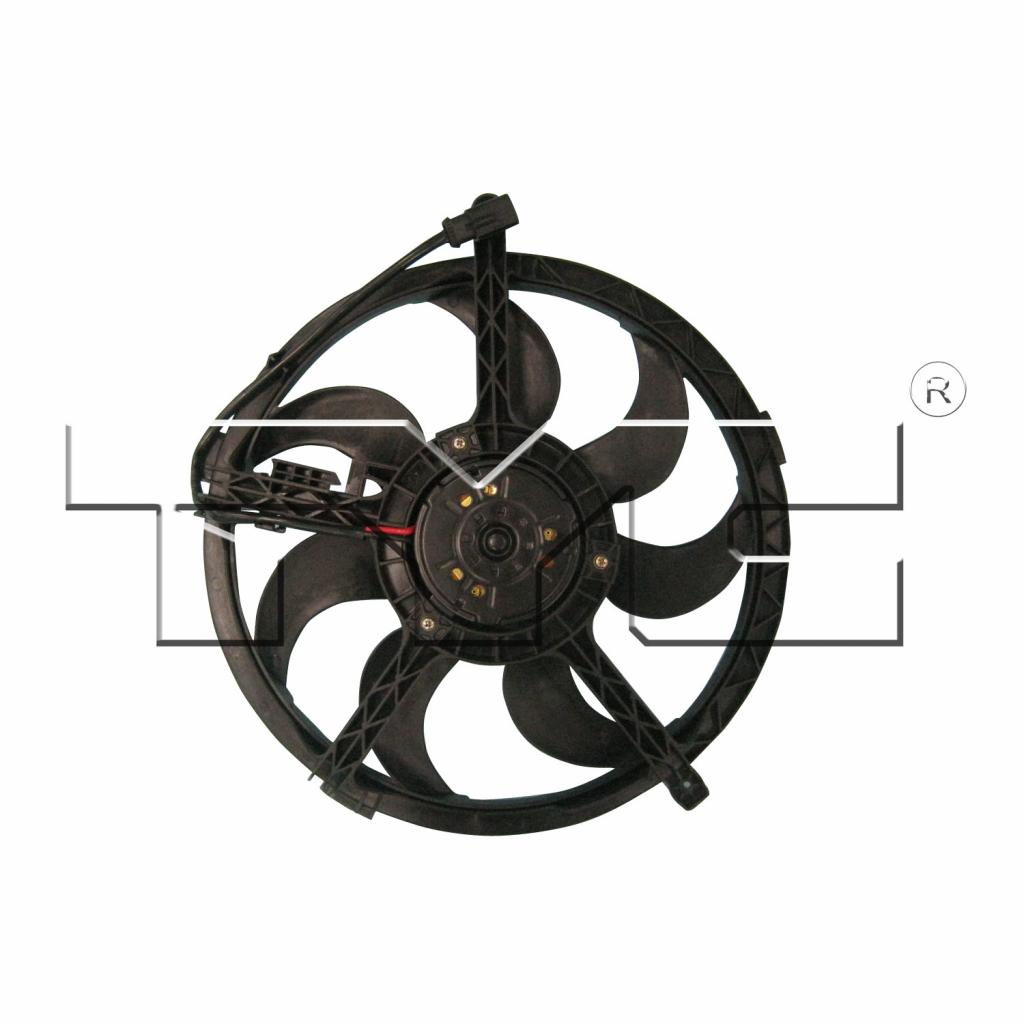 For Mini Cooper Sedan/Hatchback Radiator Cooling Fan 2009