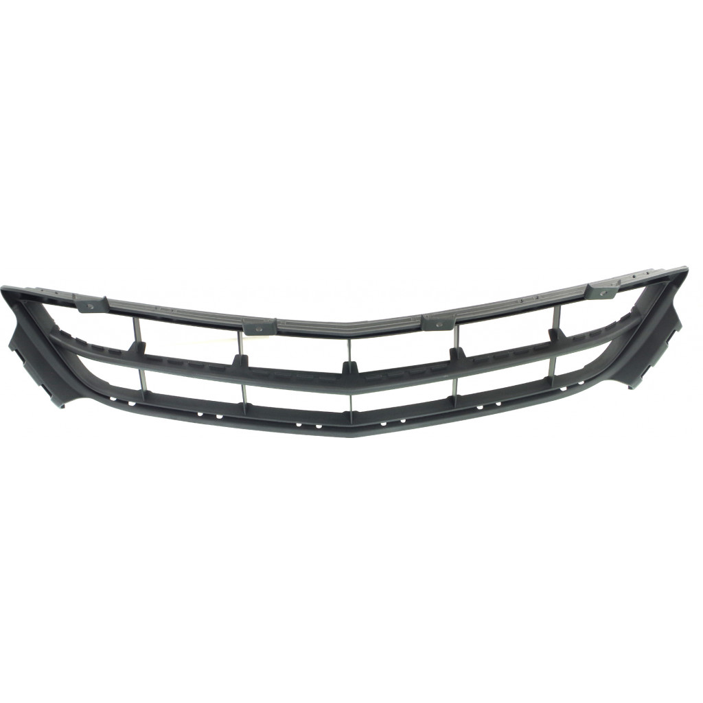 For Acura MDX Front Bumper Grille 2014-2016 Lower Black