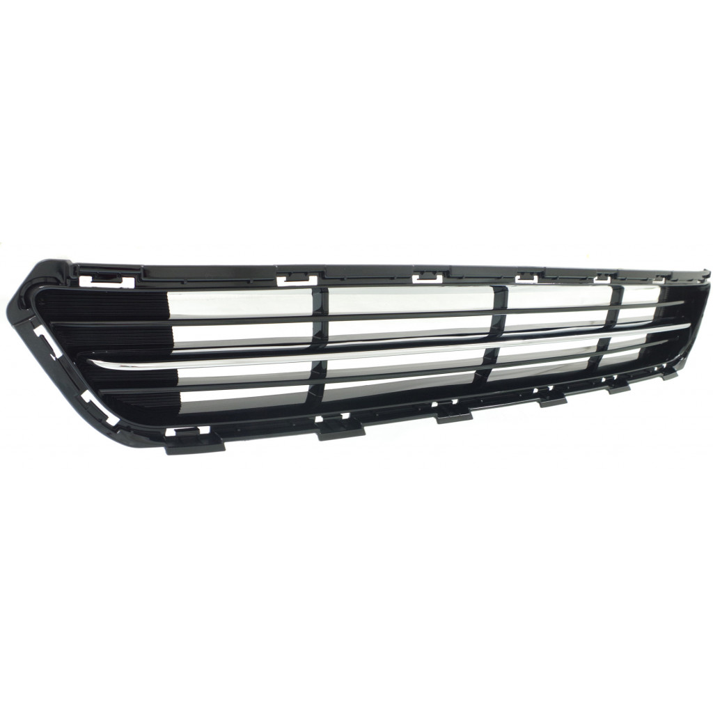 thumbnail 3 - For Kia Optima Front Bumper Grille 2014 2015 Lower Plastic w/Chrome Molding