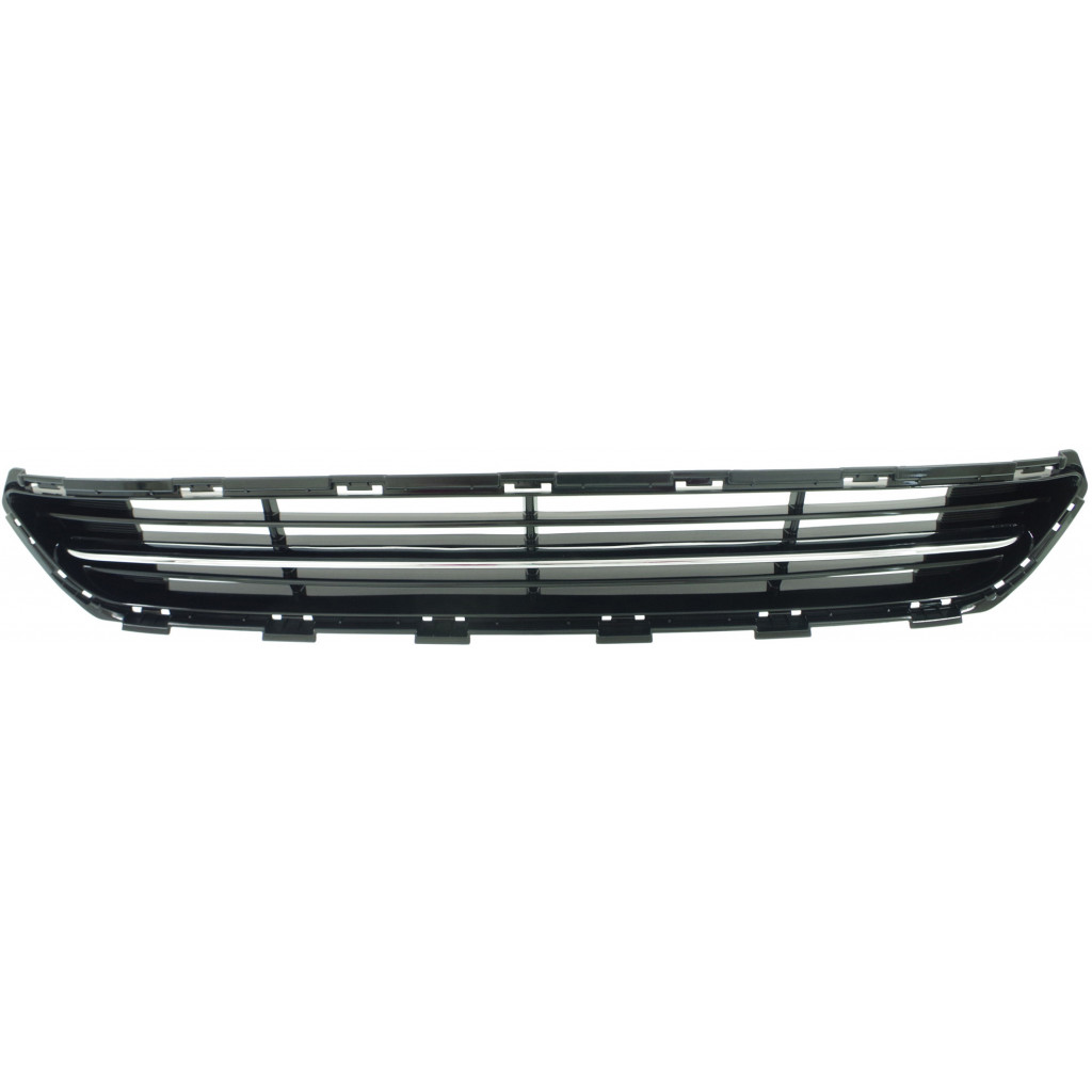 thumbnail 4 - For Kia Optima Front Bumper Grille 2014 2015 Lower Plastic w/Chrome Molding